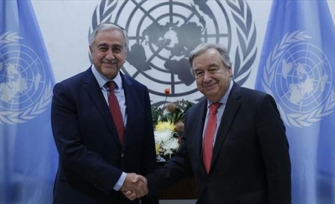 Guterres'ten Akıncı'nın önerisine destek