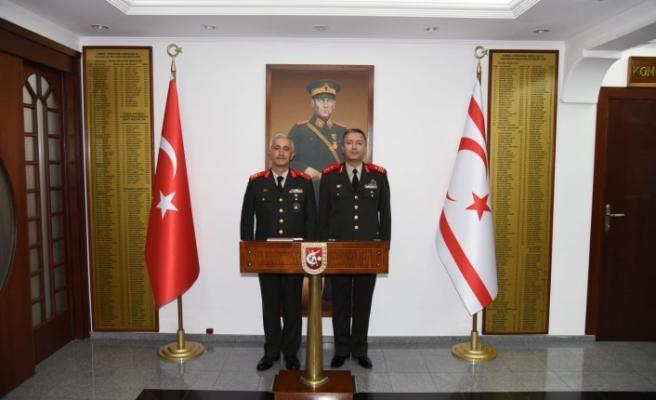 Güvenlik Kuvvetleri Komutanlığında devir teslim