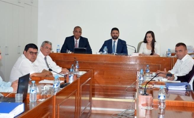 """Kamu Mali Yönetimi ve Kontrol Yasa Tasarısı""""nın genel görüşmesi çalışmaları"""