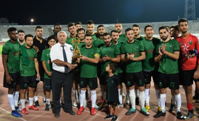 Lefkoşa Kupası K.Kaymaklı'nın (4-1)