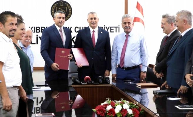 Maliye Bakanlığı ile Kamu-İş arasında Toplu İş Sözleşmesi imzalandı