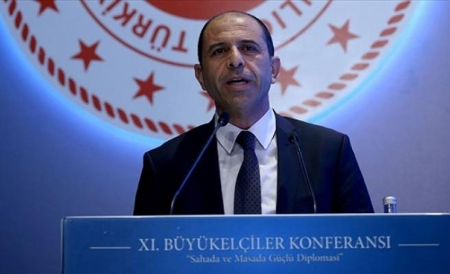 """Özersay Ankara'da açıkladı... """"Kıbrıs'ta Federal ortaklığın şartları mevcut değil"""""""