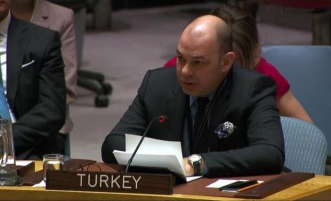 Rauf Alp Denktaş, BMGK'de YPG/PKK'nın 'meşrulaştırılmaması' çağrısı yaptı