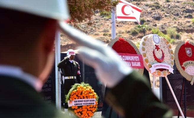 Şehit düşenler, 55'inci yıl dönümünde, Erenköy Şehitliği'nde  anıldı