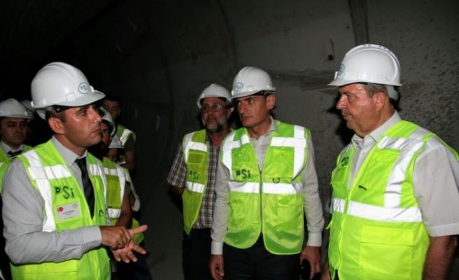 """Tatar: """"Amacımız, projenin en erken zamanda tamamlanması"""""""
