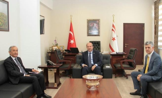 Tatar, eski Bakan Hüseyin Erdal'ı kabul etti