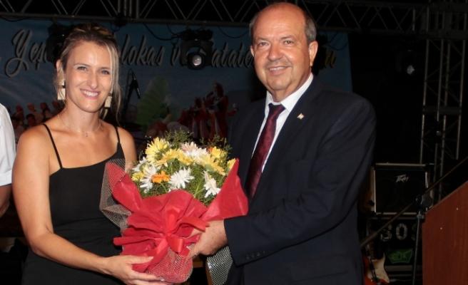 Tatar, festivalde yer aldı