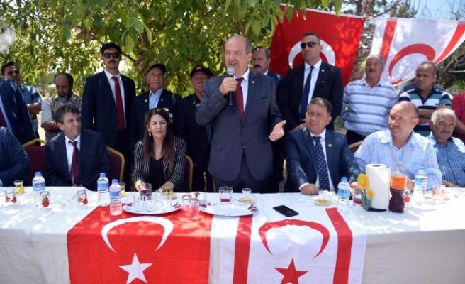 """Tatar: """"Yolumuz, KKTC'nin devamı ve güçlendirilmesi"""""""