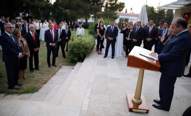 TC Lefkoşa Büyükelçiliği'nde 30 Ağustos resepsiyonu