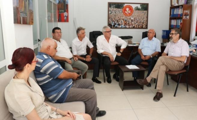 TDP heyetinden El Sen'e ziyaret