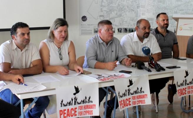 Türk ve Rum Sendikalardan Barış Günü açıklaması