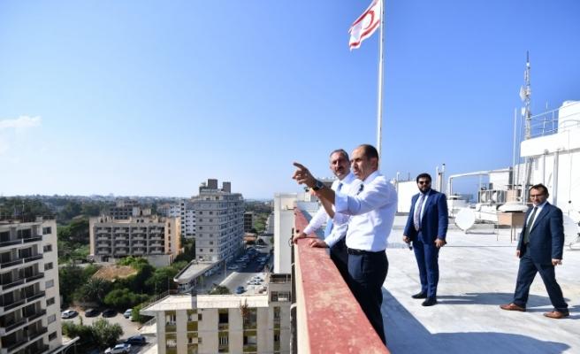 Türkiye Adalet Bakanı Gül'den Maraş ziyareti