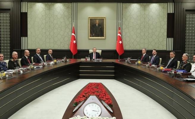 Türkiye'de Yüksek Askeri Şura toplandı