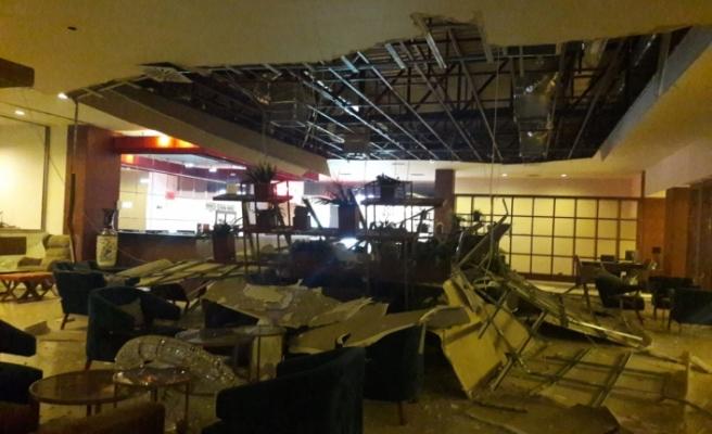 Acapulco Otel'de patlamalardan dolayı bazı hasarlar meydana geldi