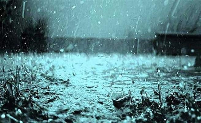 Akıncılar'da, dün, metrekarede 6 Kg yağış kaydedildi