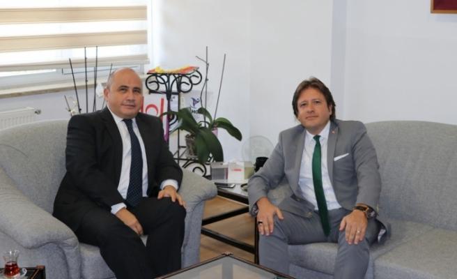 Anadolu Ajansı  Yönetim Kurulu Üyesinden KKTC'de temaslar