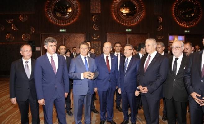 """Ankara'da """"Kuzey Kıbrıs Turizm İşbirliği"""" resepsiyonu"""