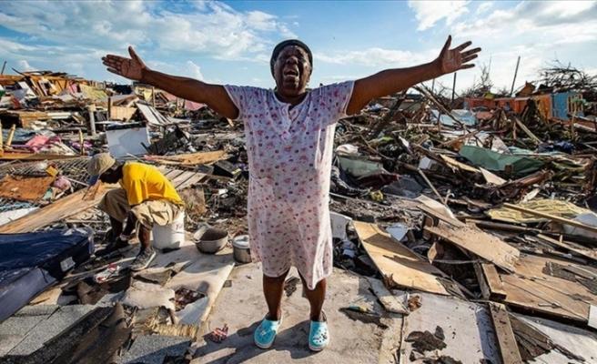 BM Dorian Kasırgası'nın vurduğu Bahamalar'a 8 ton gıda