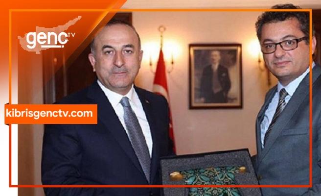 Çavuşoğlu, Erhürman ile görüştü
