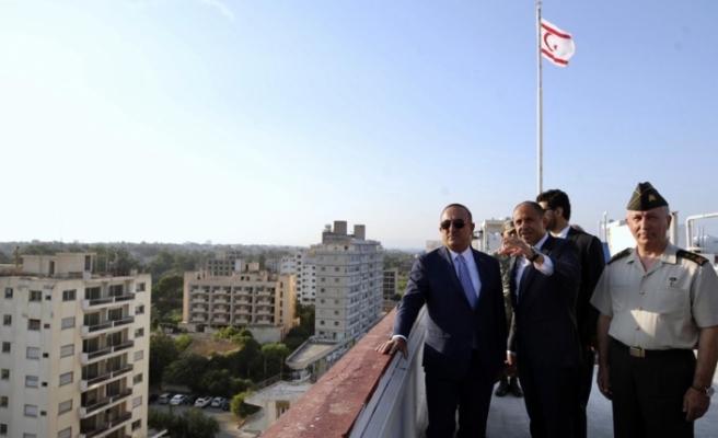 """Çavuşoğlu: """"Hazırlıklar yapılıyor. Maraş'ı açacağız"""""""