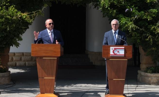 Çavuşoğlu: Neyi müzakere edeceğimizi belirlemek için 5 artı BM formatında gayrı resmi toplantı
