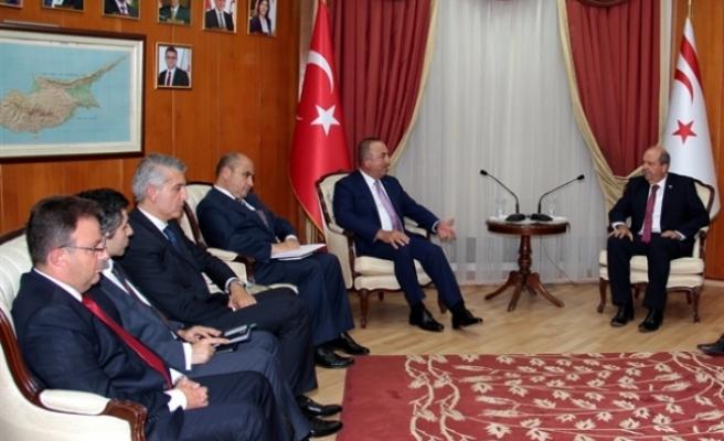 """Çavuşoğlu'nun kritik dönemde adaya gelmesi, değerlendirmelerin birlikte yapılması son derece önemli"""""""