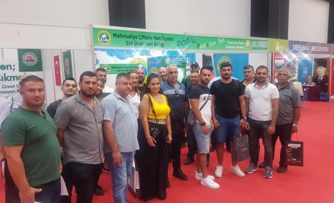 Çiftçiler Birliği, Eskişehir'de fuara katıldı