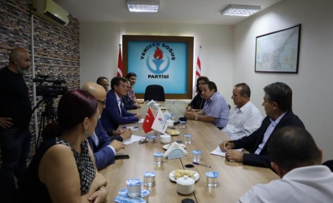 DP ve YDP'den Mecliste işbirliği kararı