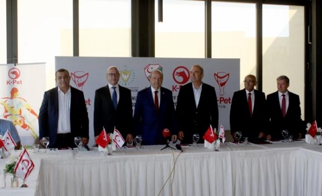 Futbola devlet katkısı için protokol imza töreni yapıldı