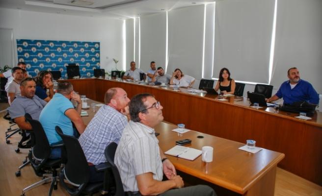 Gazimağusa Belediyesi'nde mekansal adres kayıt sistemi bilgilendirme toplantısı