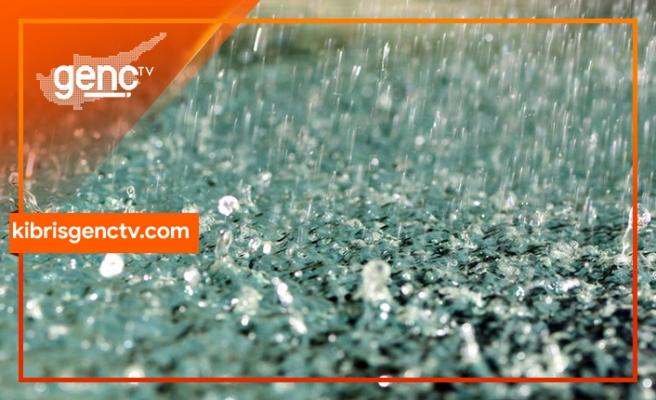 Geçitkale'de metrekareye 4 kilogram yağış düştü