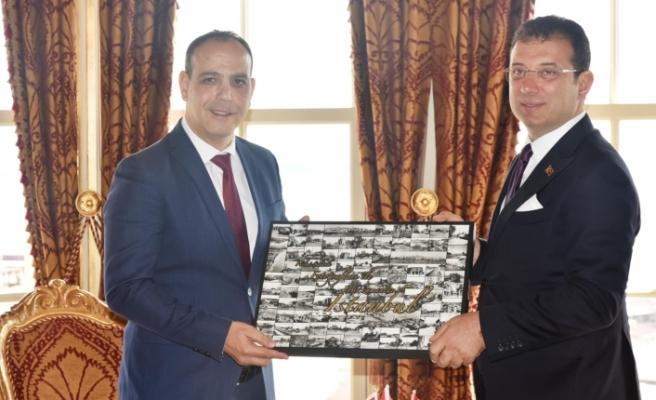 Harmancı, İstanbul Belediye Başkanı İmamoğlu ile görüştü