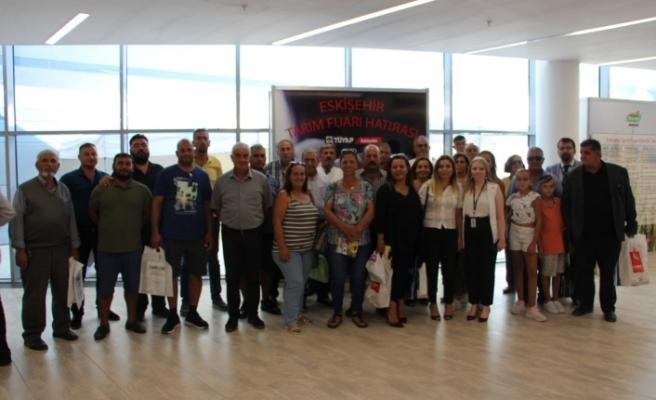 Hayvan Üreticileri ve Yetiştiricileri Birliği, Eskişehir'de fuara katıldı