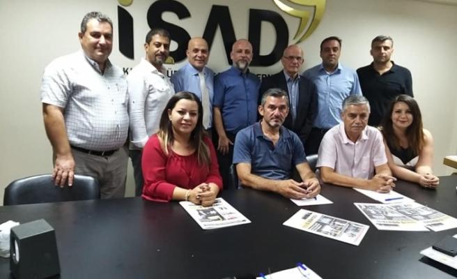 İŞAD, Güney Kıbrıs'tan ekonomist Costas Apostolides'i ağırladı