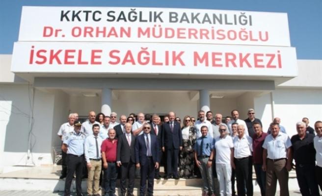 """İskele'deki Sağlık Merkezinin ismi """"Dr. Orhan Müderrisoğlu Sağlık Merkezi"""" oldu"""