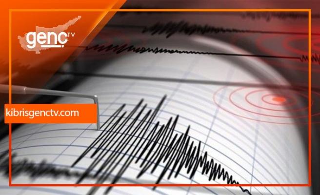 Kıbrıs'ın kuzey batısında denizde deprem
