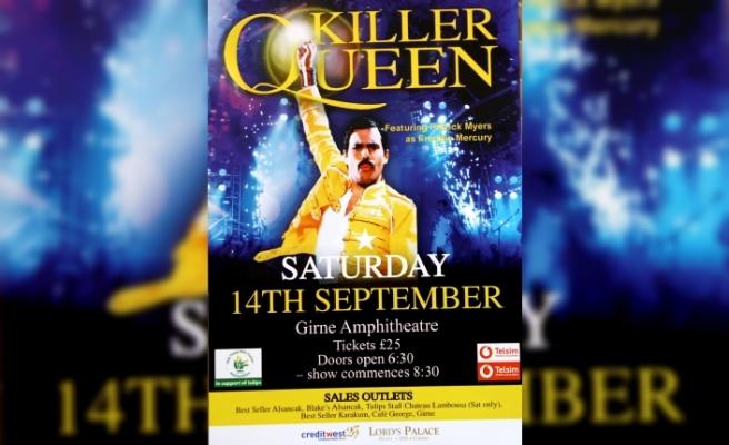 Killer Queen grubundan Kanser Hastalarına Yardım Derneği yararına konser