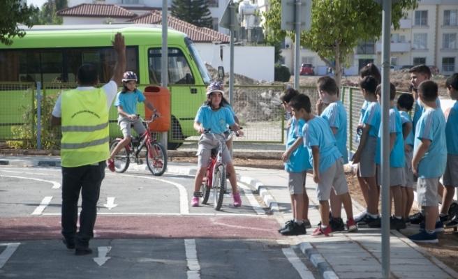 KKTCELL Trafik Eğitim Parkı 2019-2020 Öğretim Yılı açılışı gerçekleştirildi