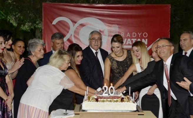 Kuzeyin Sesi Radyo Vatan 20. yaşını kutladı