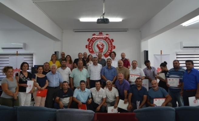 Lefkoşa bölgesi iş yeri temsilcilerine yönelik seminer