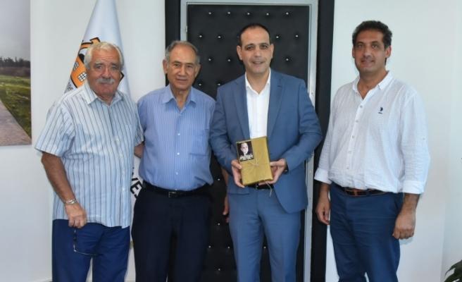 LTB Başkanı Harmancı, Dr. Fazıl Küçük Vakfı'nı kabul etti