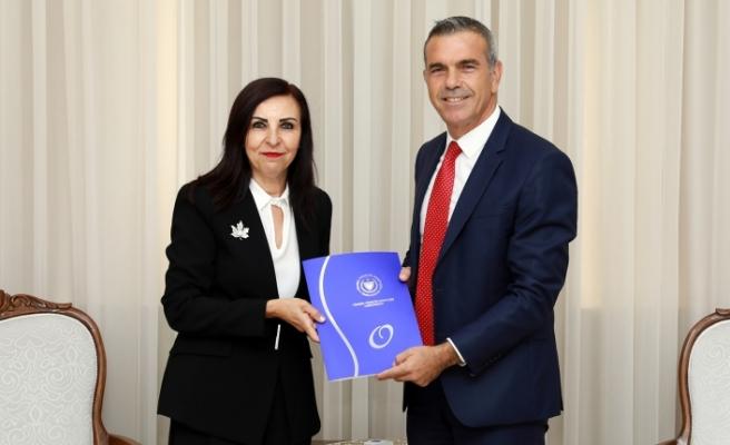 Ombudsman Dizdarlı Ocak- Haziran raporunu Meclis Başkanı'na sundu