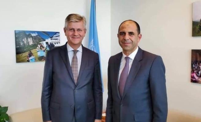 Özersay, Genel Sekreter Yardımcısı Lacroix ile görüştü