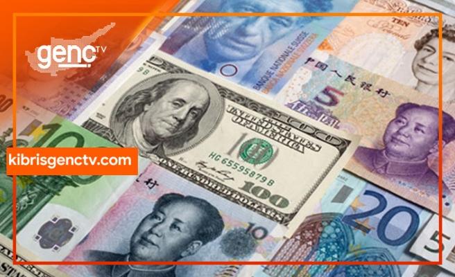 Sterlin,Dolar ve Euro'da son rakamlar