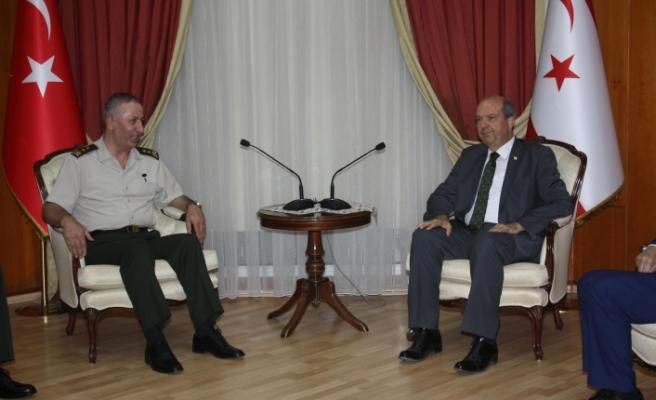 """Tatar: """"Kıbrıs Türkü'nün güvenliği ve esenliği açısından vazgeçilmez bir unsur"""""""