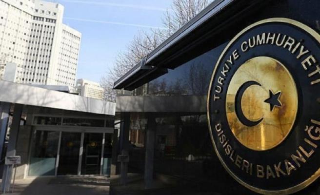 """TC Dışişleri Bakanlığı: """"Türkiye'ye yönelik iddiaları reddediyoruz"""""""