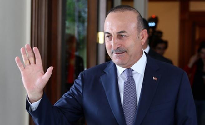 Türkiye Dışişleri Bakanı Çavuşoğlu KKTC'ye geldi