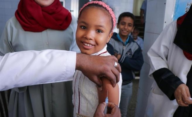 UNICEF'ten Yemen'de 2,8 milyon çocuğa aşı kampanyası