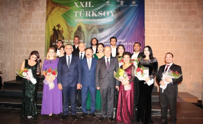 XXII. TÜRKSOY Opera Günleri Konseri ayakta alkışlandı
