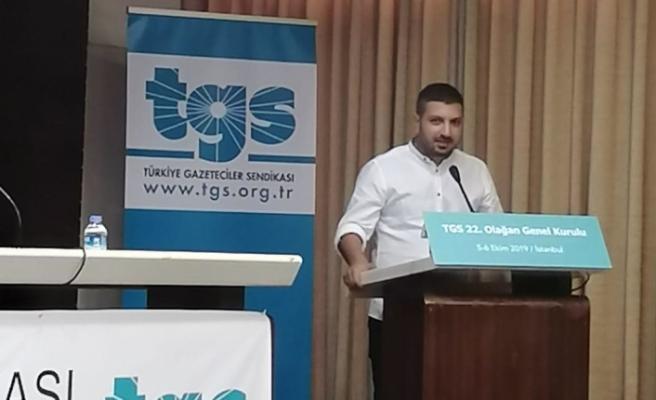 Basın Sen, Türkiye Gazeteciler Sendikası Genel Kuruluna katıldı